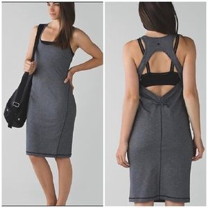 Lululemon • Fitted Athletic Dress with Open Back